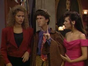 When Screech scolds you, you know you did something wrong.
